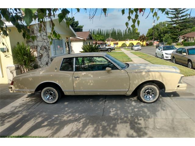 1979 Chevrolet Monte Carlo (CC-1443099) for sale in Lahabra, California