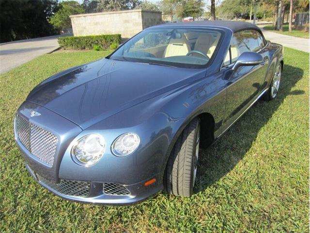 2013 Bentley Continental (CC-1443128) for sale in Punta Gorda, Florida