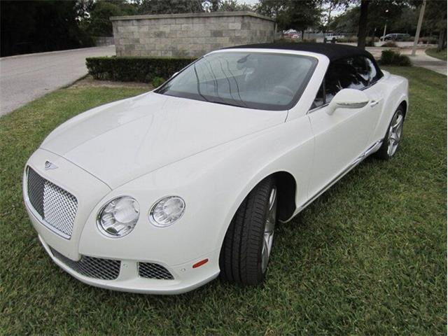 2012 Bentley Continental (CC-1443143) for sale in Punta Gorda, Florida
