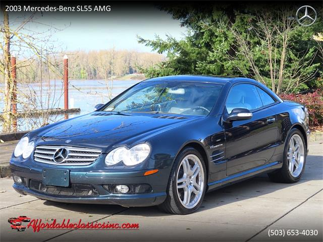 2003 Mercedes-Benz SL55 (CC-1443410) for sale in Gladstone, Oregon
