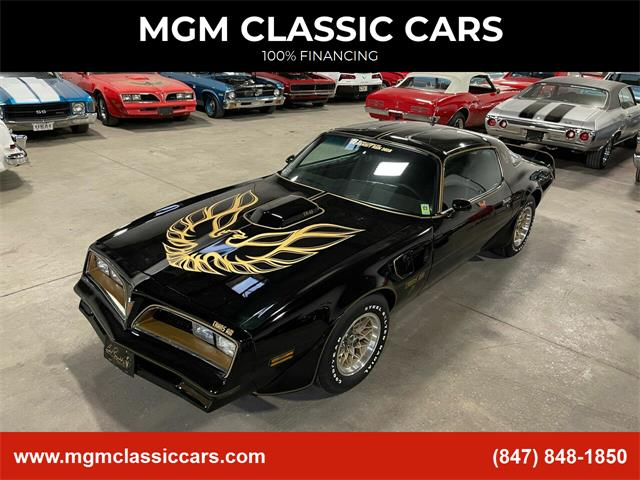 1978 Pontiac Firebird Trans Am (CC-1443575) for sale in Addison, Illinois