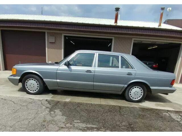 1987 Mercedes-Benz 500SEL (CC-1443716) for sale in Defiance , Ohio