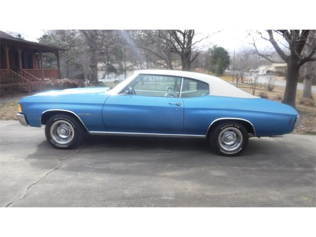 1972 Chevrolet Chevelle (CC-1443719) for sale in MILFORD, Ohio