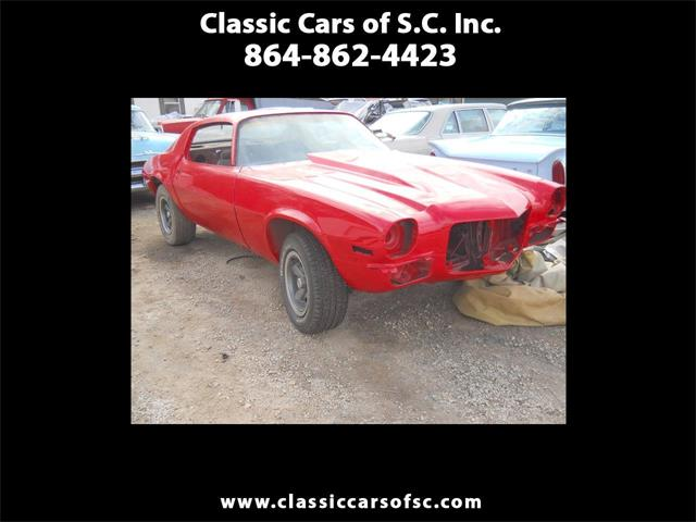 1971 Chevrolet Camaro SS (CC-1443768) for sale in Gray Court, South Carolina