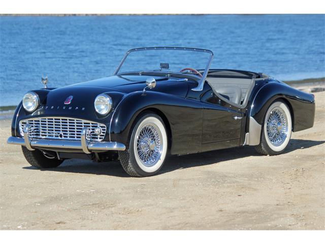 1961 Triumph TR3A (CC-1443855) for sale in SAN DIEGO, California