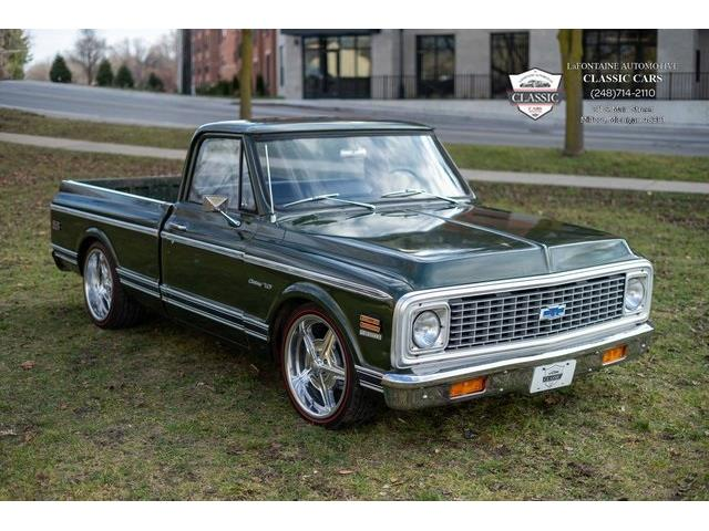 1971 Chevrolet C/K 10 (CC-1443862) for sale in Milford, Michigan