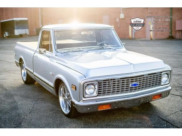1972 Chevrolet C/K 10 (CC-1443872) for sale in Milford, Michigan