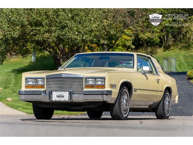 1982 Cadillac Eldorado (CC-1443880) for sale in Milford, Michigan