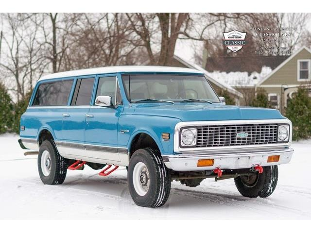1972 Chevrolet Suburban (CC-1443885) for sale in Milford, Michigan