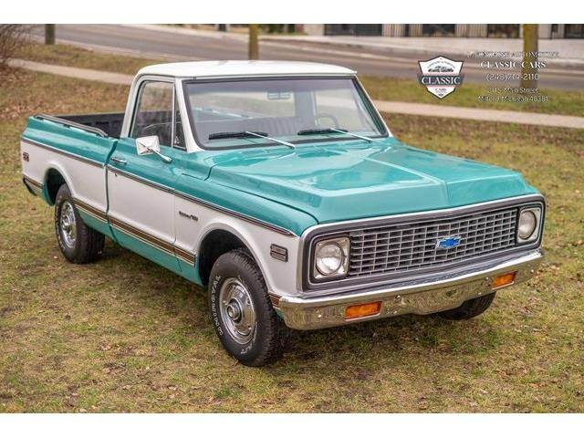 1971 Chevrolet 1 Ton Pickup (CC-1443893) for sale in Milford, Michigan