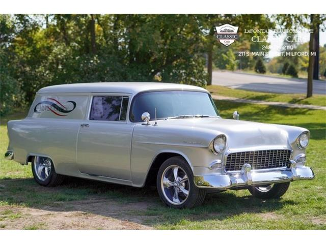 1955 Chevrolet Sedan Delivery (CC-1443896) for sale in Milford, Michigan