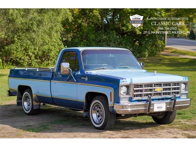 1977 Chevrolet C/K 10 (CC-1443900) for sale in Milford, Michigan