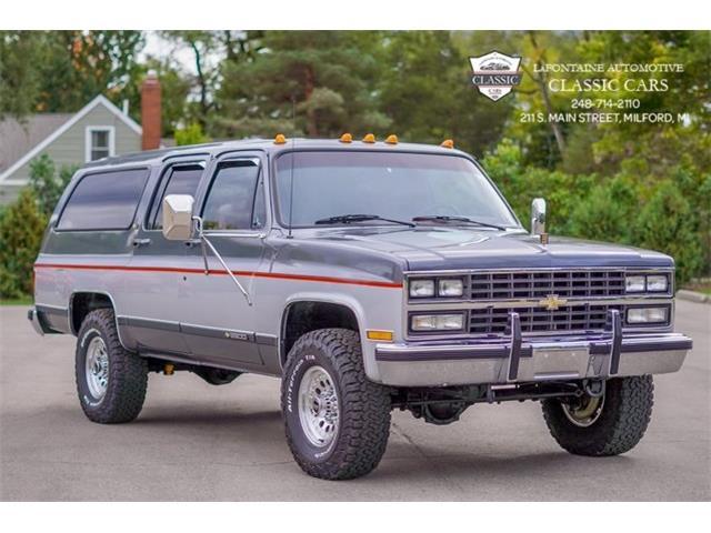 1990 Chevrolet Suburban (CC-1443902) for sale in Milford, Michigan