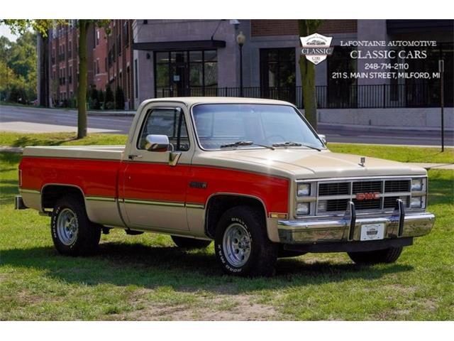 1984 GMC 1500 (CC-1443930) for sale in Milford, Michigan