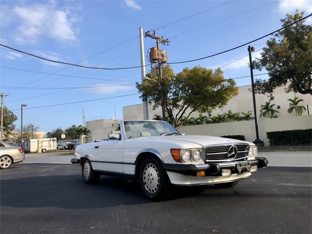 1988 Mercedes-Benz 560SL (CC-1443937) for sale in North Miami Beach, Florida