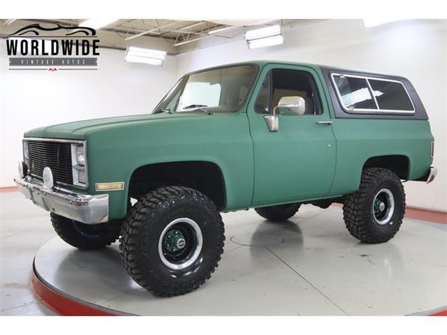 1983 Chevrolet Blazer (CC-1443972) for sale in Denver , Colorado