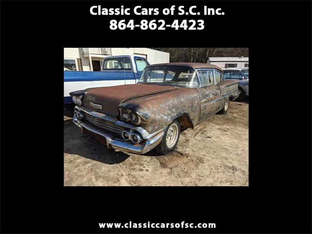 1958 Chevrolet Biscayne (CC-1444022) for sale in Gray Court, South Carolina