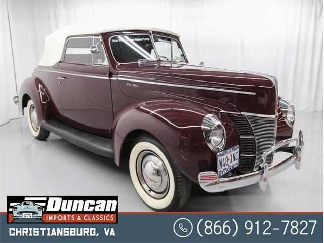 1940 Ford Deluxe (CC-1444189) for sale in Christiansburg, Virginia