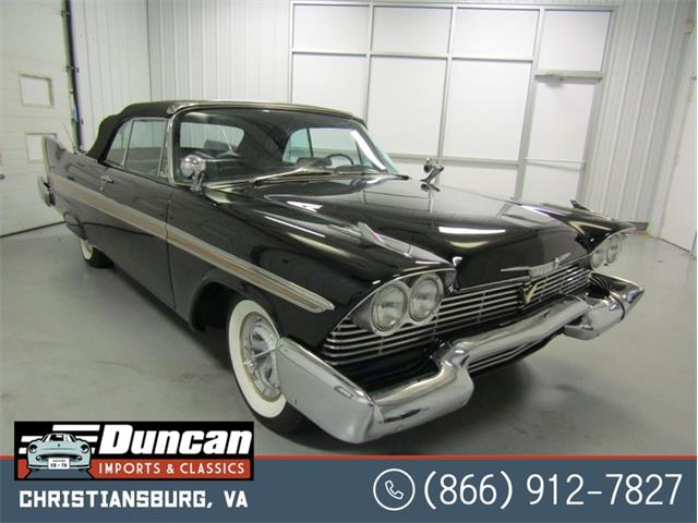 1958 Plymouth Belvedere (CC-1444194) for sale in Christiansburg, Virginia
