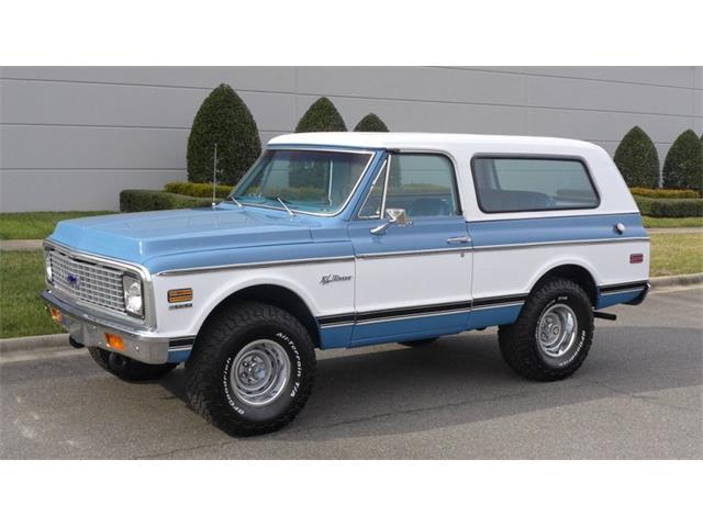 1972 Chevrolet Blazer (CC-1444209) for sale in Greensboro, North Carolina