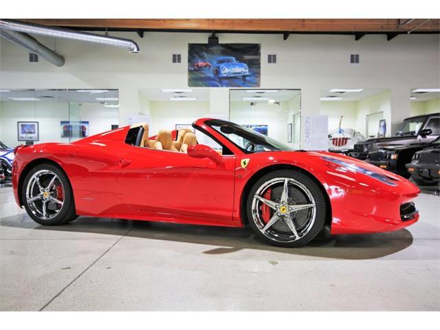2013 Ferrari 458 (CC-1444298) for sale in Chatsworth, California