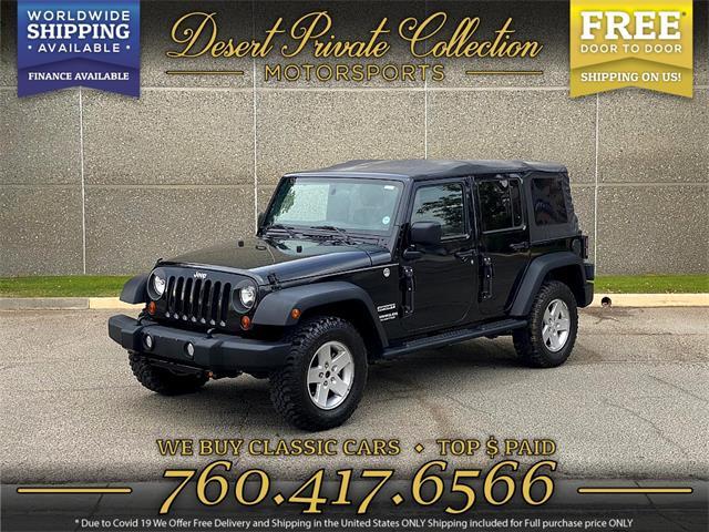 2011 Jeep Wrangler (CC-1444316) for sale in Palm Desert , California