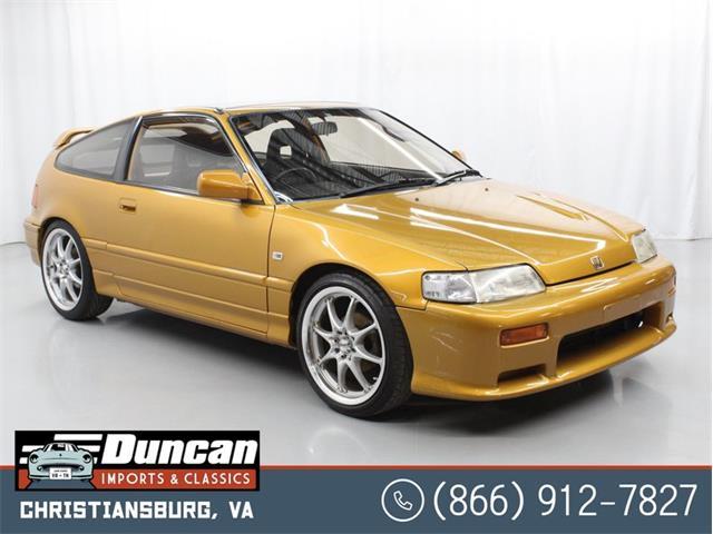 1989 Honda CRX (CC-1444442) for sale in Christiansburg, Virginia
