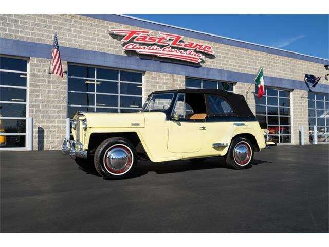 1949 Willys Jeepster (CC-1444534) for sale in St. Charles, Missouri