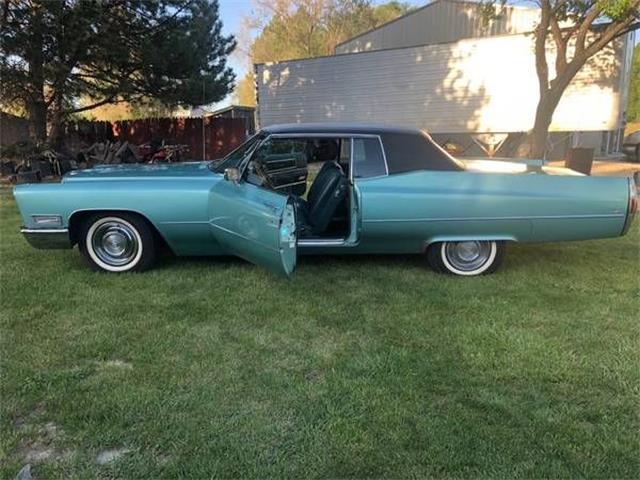 1968 Cadillac Coupe DeVille (CC-1444556) for sale in Cadillac, Michigan