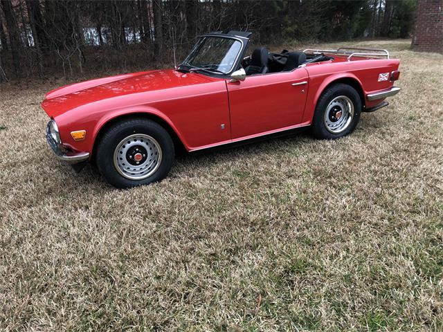 1972 Triumph TR6 (CC-1444742) for sale in Morrisville, North Carolina