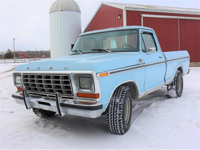 1978 Ford F100 (CC-1444749) for sale in Crystal, Michigan