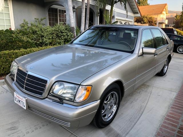 1997 Mercedes-Benz S500 (CC-1440048) for sale in Palm Springs, California