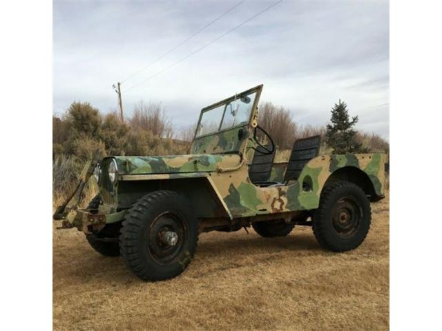 1948 Willys CJ2A (CC-1444810) for sale in Cadillac, Michigan