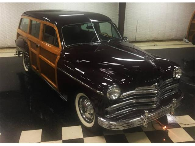 1949 Plymouth Woody Wagon (CC-1444905) for sale in Cadillac, Michigan