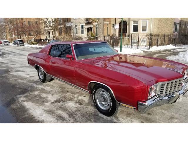 1972 Chevrolet Monte Carlo (CC-1444960) for sale in Cadillac, Michigan