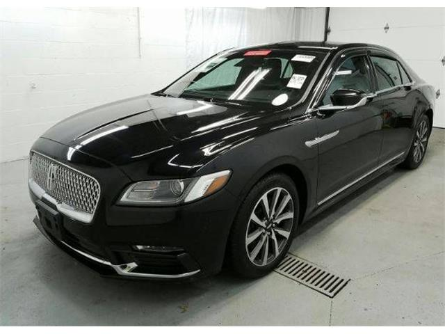 2017 Lincoln Continental (CC-1444972) for sale in Cadillac, Michigan