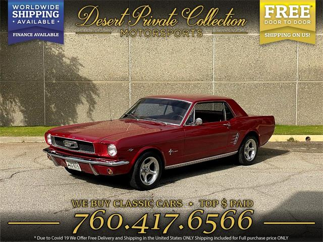 1966 Ford Mustang (CC-1444993) for sale in Palm Desert , California