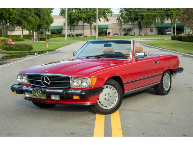 1987 Mercedes-Benz 560SL (CC-1440510) for sale in West Palm Beach, Florida