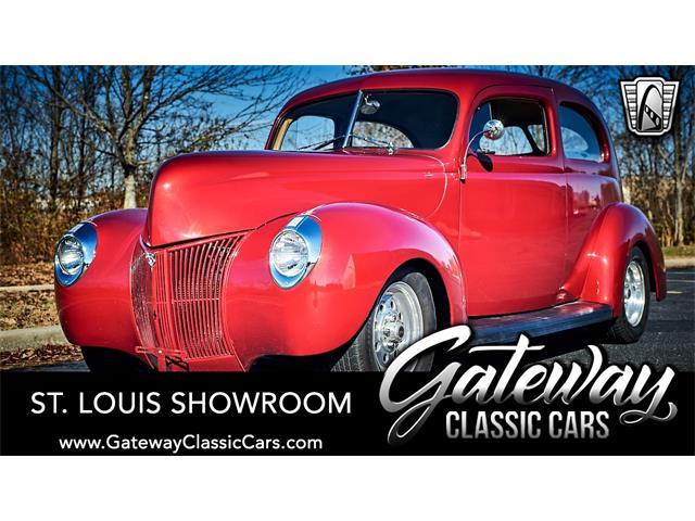 1940 Ford Tudor (CC-1445118) for sale in O'Fallon, Illinois