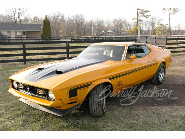 1972 Ford Mustang Mach 1 (CC-1445254) for sale in Scottsdale, Arizona