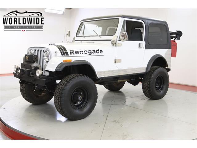 1985 Jeep CJ (CC-1445608) for sale in Denver , Colorado