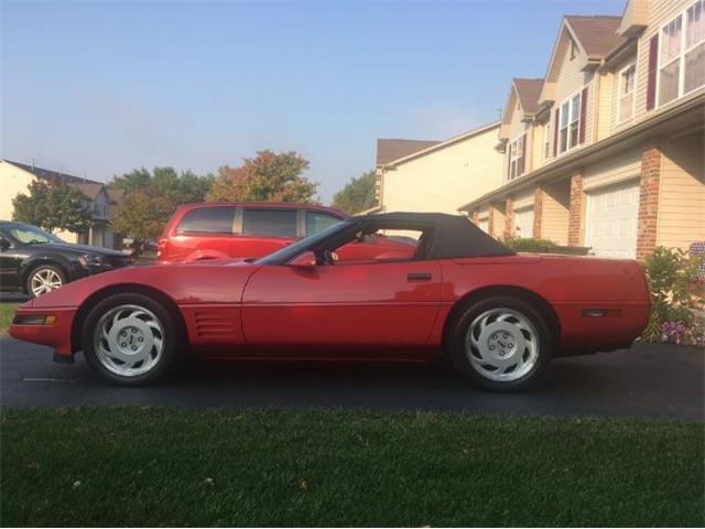 1992 Chevrolet Corvette (CC-1445723) for sale in Cadillac, Michigan