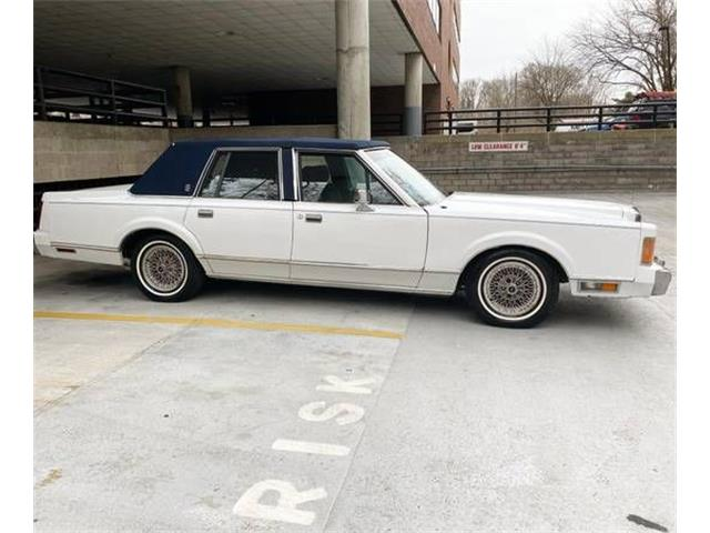 1989 Lincoln Town Car (CC-1445768) for sale in Cadillac, Michigan