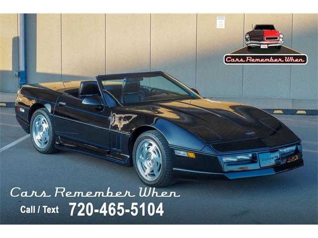 1990 Chevrolet Corvette (CC-1445797) for sale in Englewood, Colorado