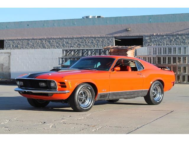 1970 Ford Mustang Mach 1 (CC-1440059) for sale in Palm Springs, California