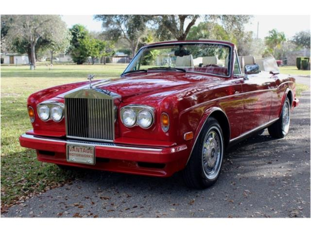 1995 Rolls-Royce Corniche S (CC-1445927) for sale in North Miami , Florida