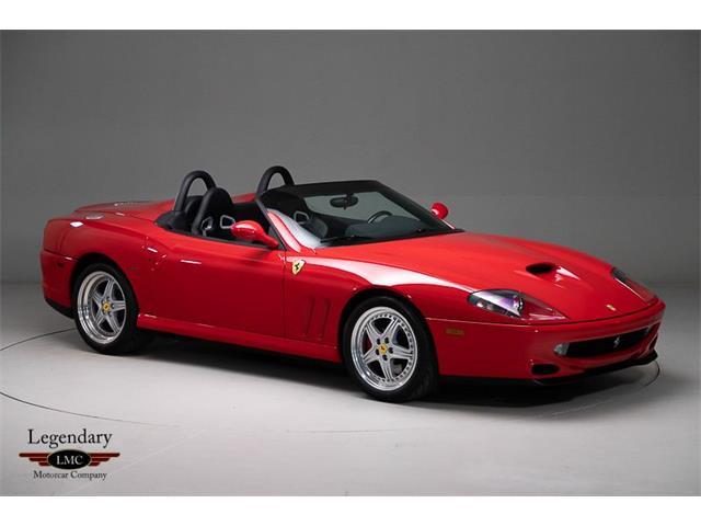 2001 Ferrari 550 Barchetta (CC-1446314) for sale in Halton Hills, Ontario