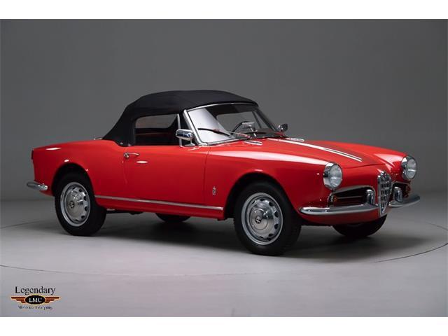 1961 Alfa Romeo Giulietta Spider (CC-1446322) for sale in Halton Hills, Ontario