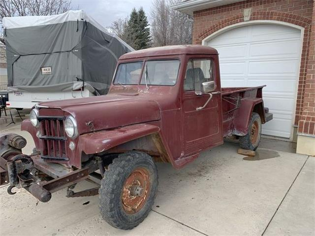 1955 Jeep Willys (CC-1446333) for sale in Cadillac, Michigan