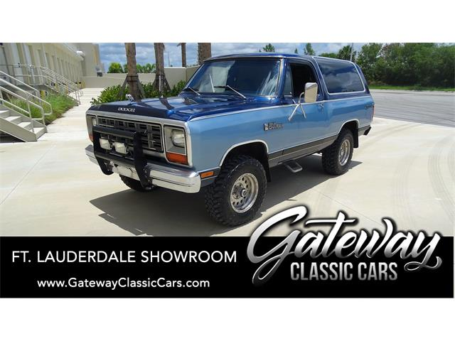 1984 Dodge Ramcharger (CC-1440635) for sale in O'Fallon, Illinois